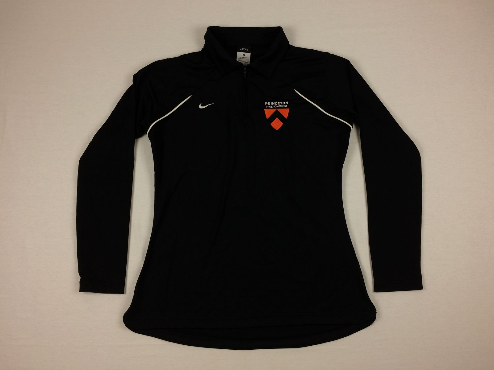 9b82f6bb4982 Details about Nike Princeton Tigers - Black Poly Pullover (M) - Used
