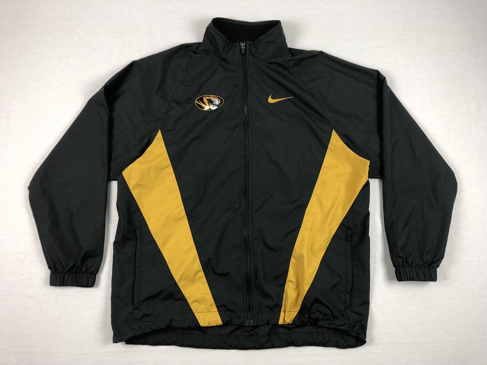 Details about Nike Missouri Tigers - Black Gold Poly Jacket (Multiple  Sizes) - Used 0f6fdb817