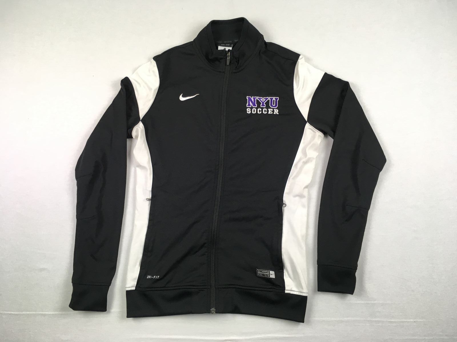 Details about Nike NYU Violets - Black Poly Jacket (Multiple Sizes) - Used.  Listed for charity 601cb1bc4