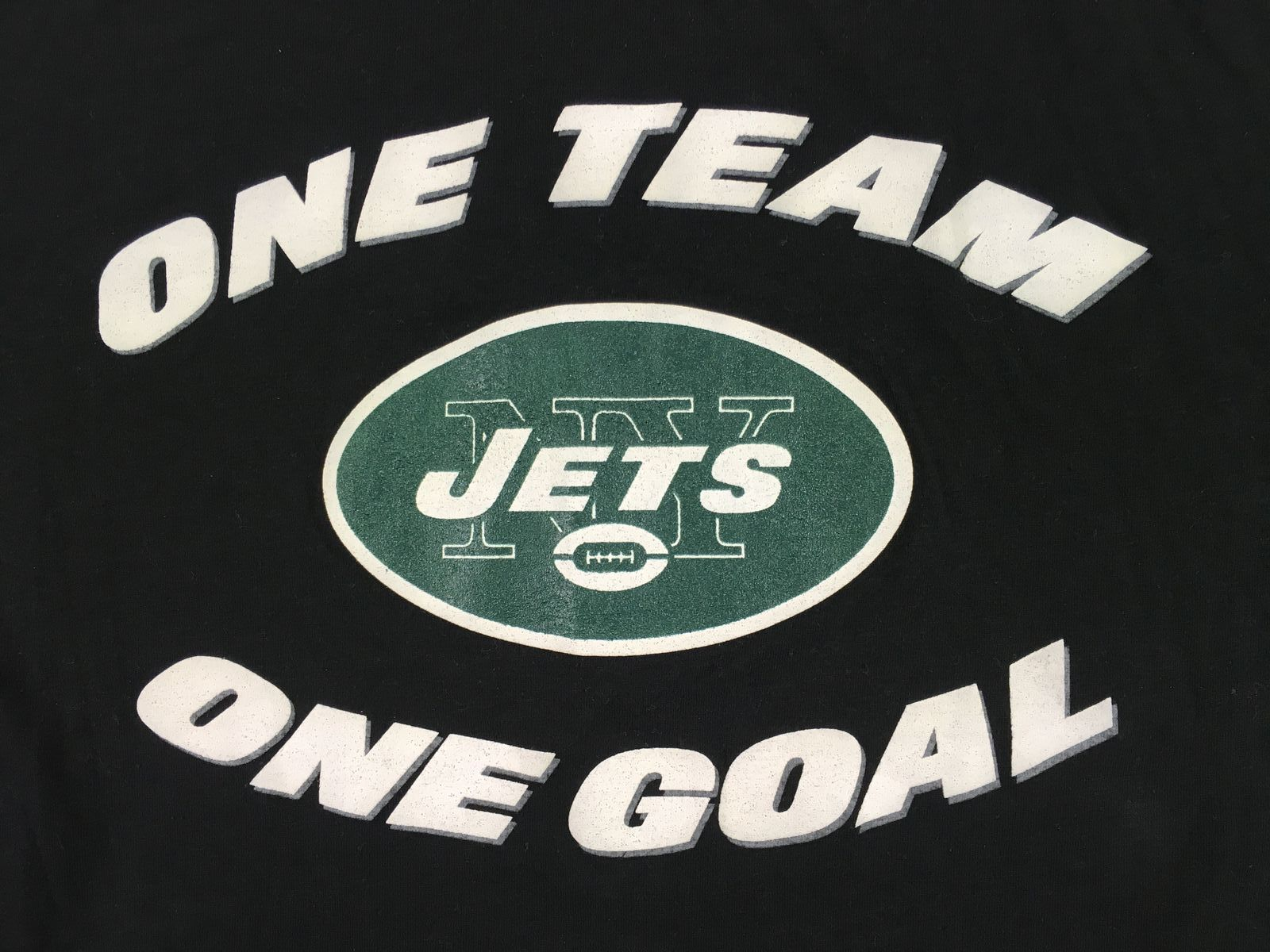 New Era New York Jets Black Poly Short Sleeve Shirt Multiple