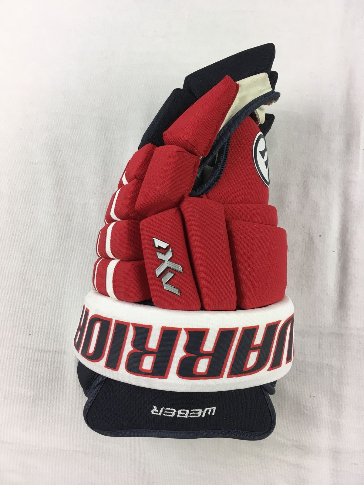 Warrior Washington Capitals Mike Weber Single Hockey Glove Lxl