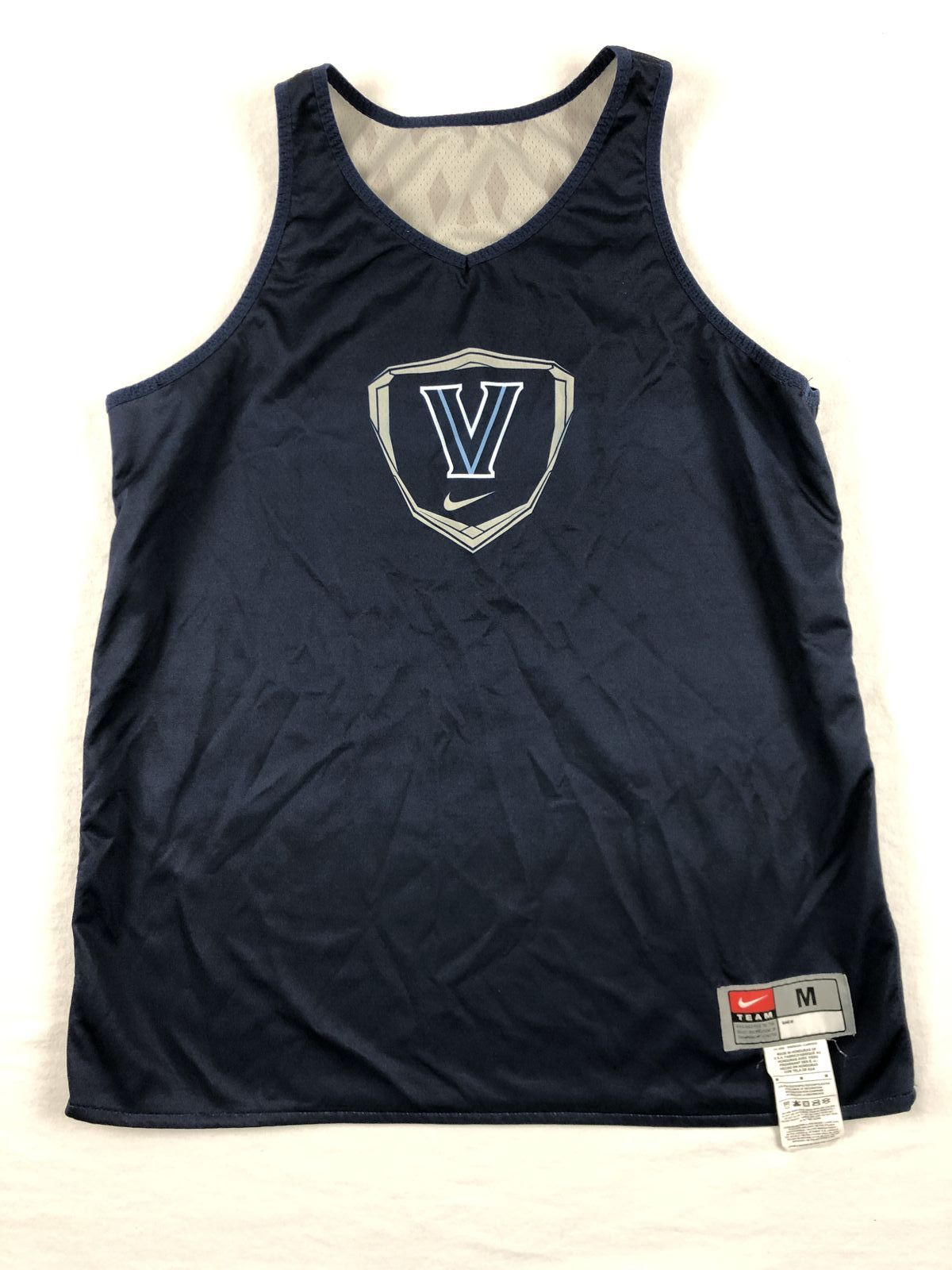 98ec5b72f Details about Nike Villanova Wildcats - Navy Poly Jersey (Multiple Sizes) -  Used