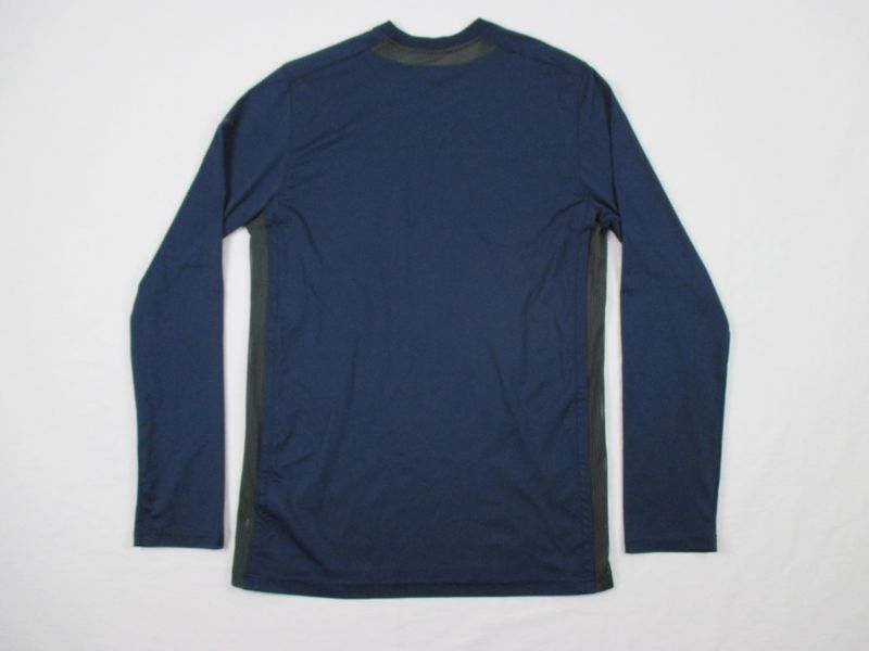 842cb6a4 Details about Nike Georgetown Hoyas - Navy Dri-Fit Long Sleeve Shirt (S) -  Used