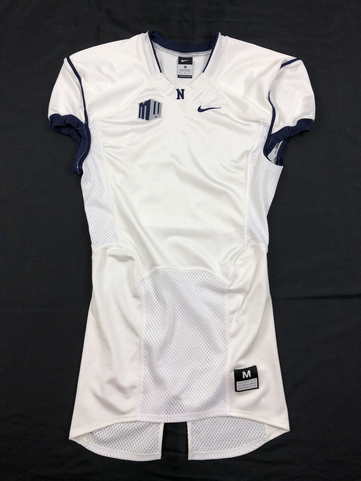 best service 0bb76 8b4c0 Nike Nevada Wolfpack - White Jersey (M) - Used | eBay