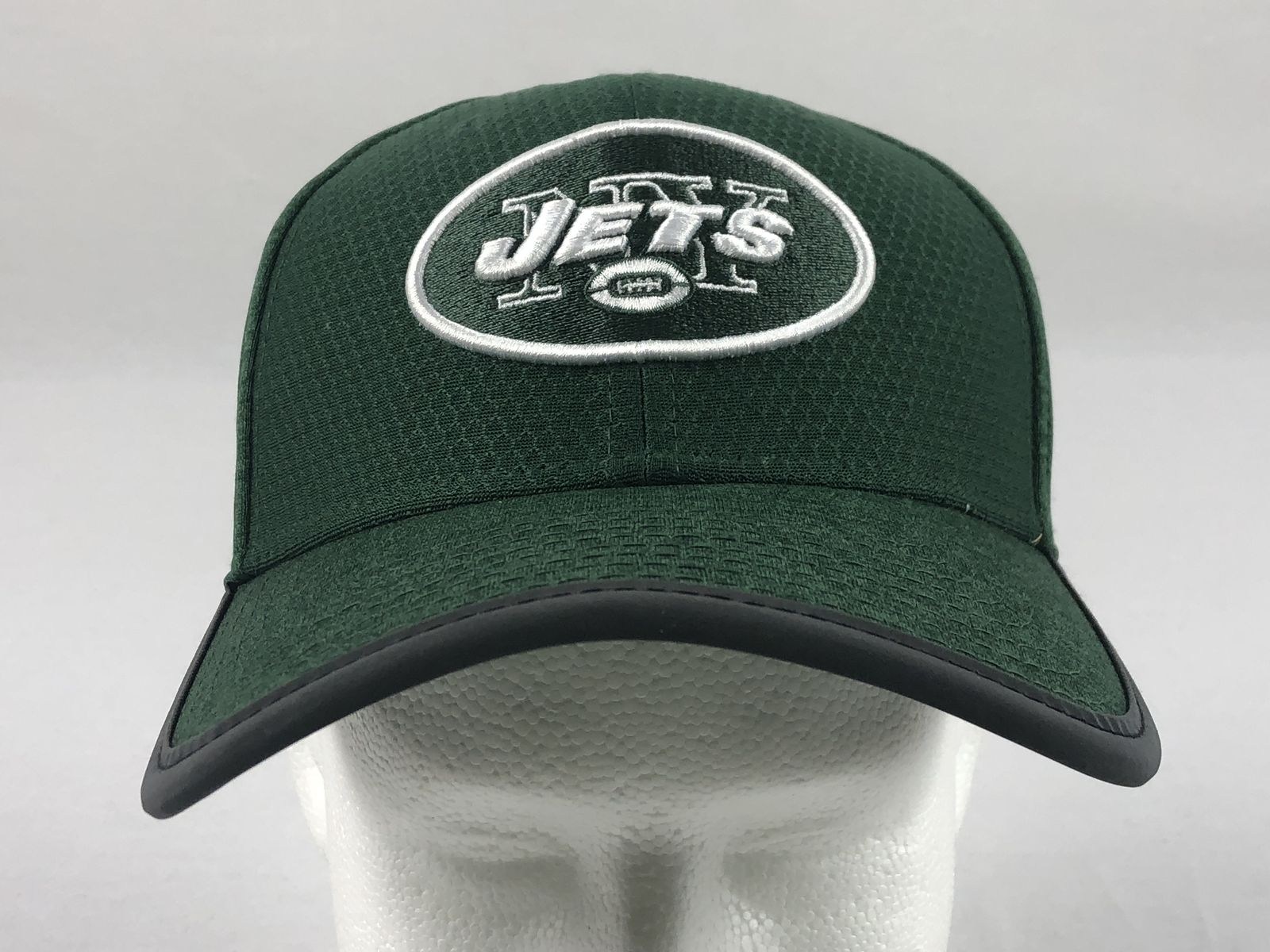 Details about New Era New York Jets - Green Fitted Hat (Multiple Sizes) -  Used c41fa6c0e