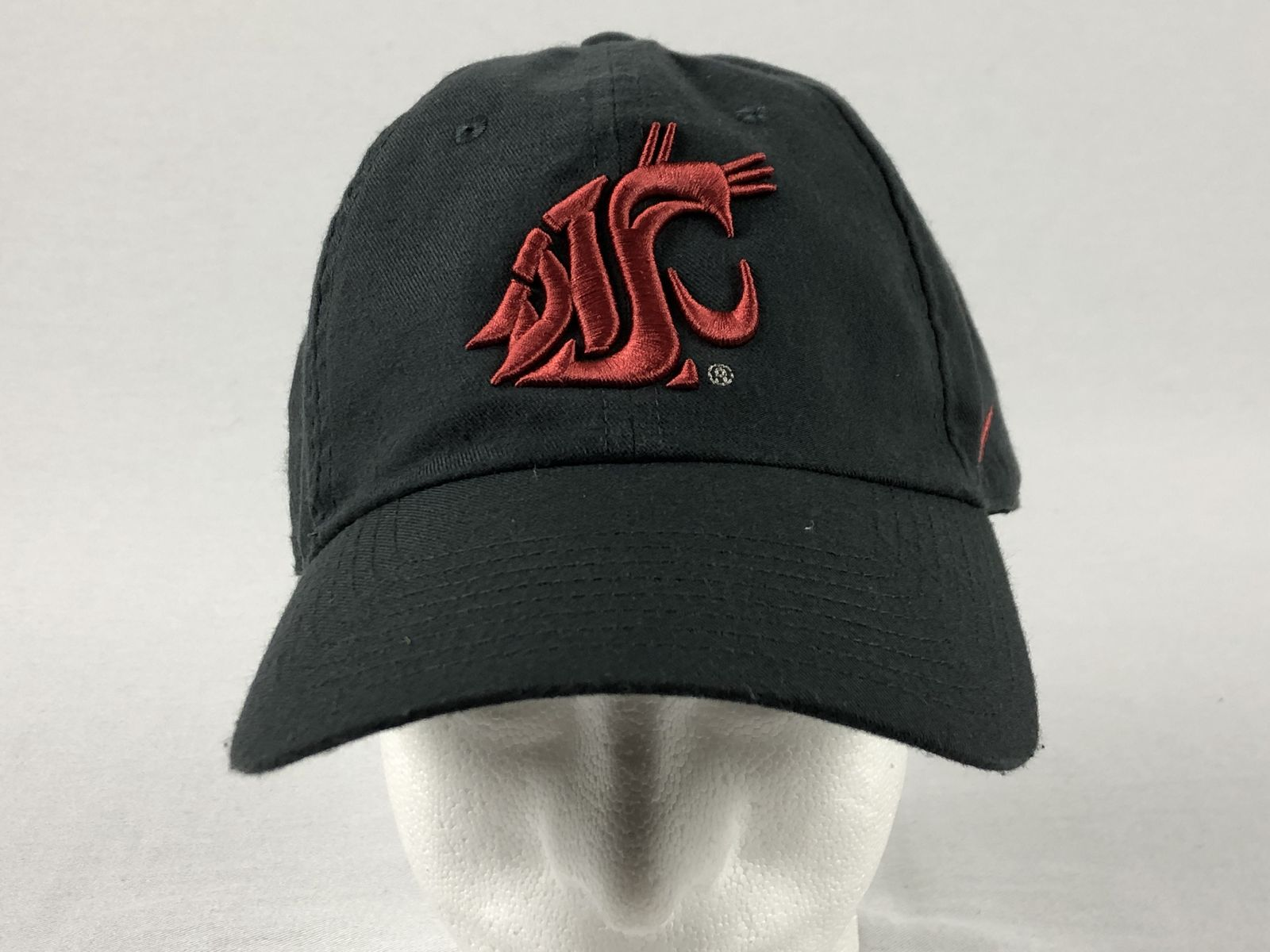 separation shoes 9d3b8 5cdae Details about Nike Washington State Cougars - Gray Adjustable Hat (OSFM) -  Used