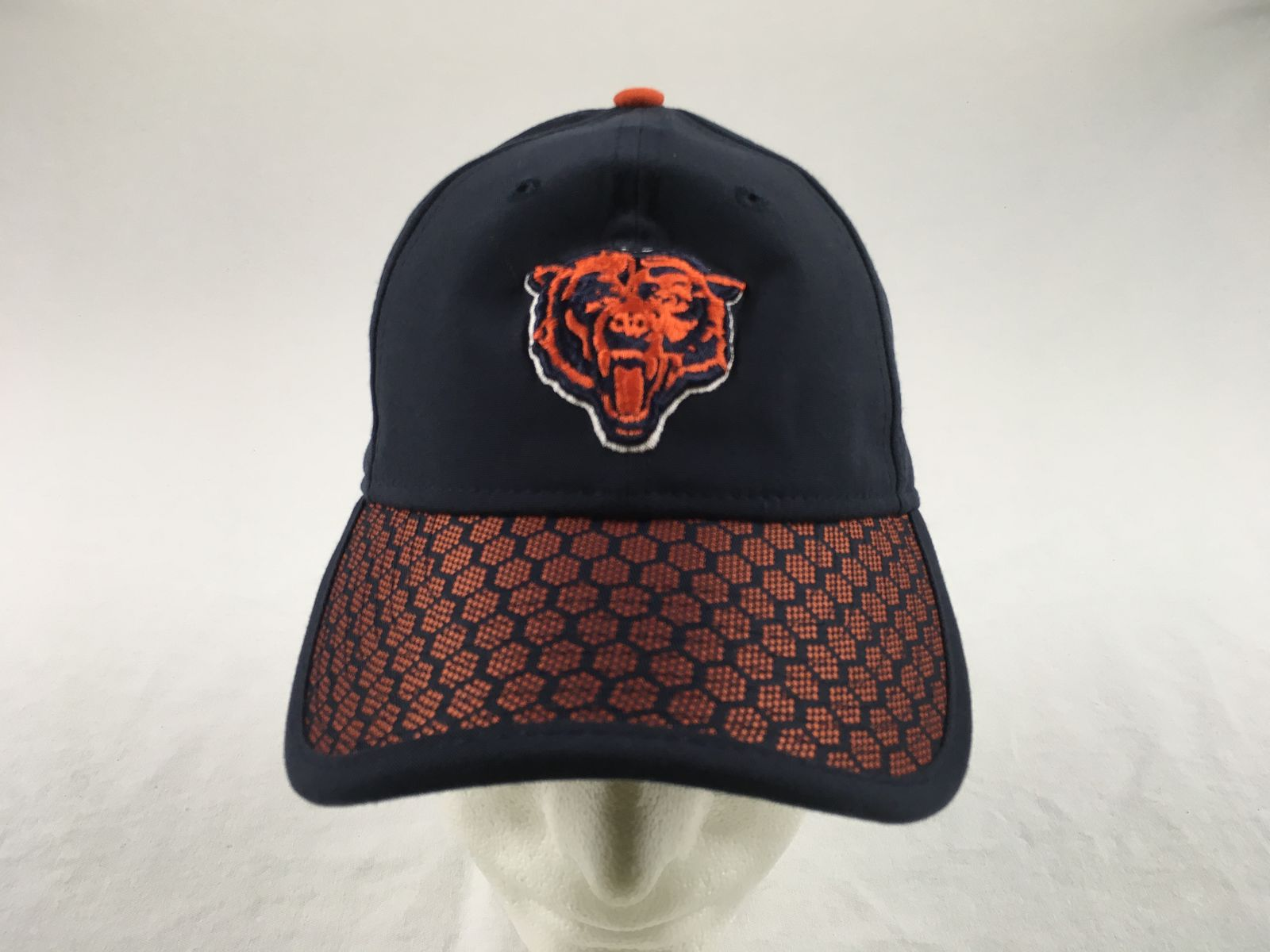 the latest 2614f 5329c Details about NEW New Era Chicago Bears - Navy Adjustable Hat (OSFM)