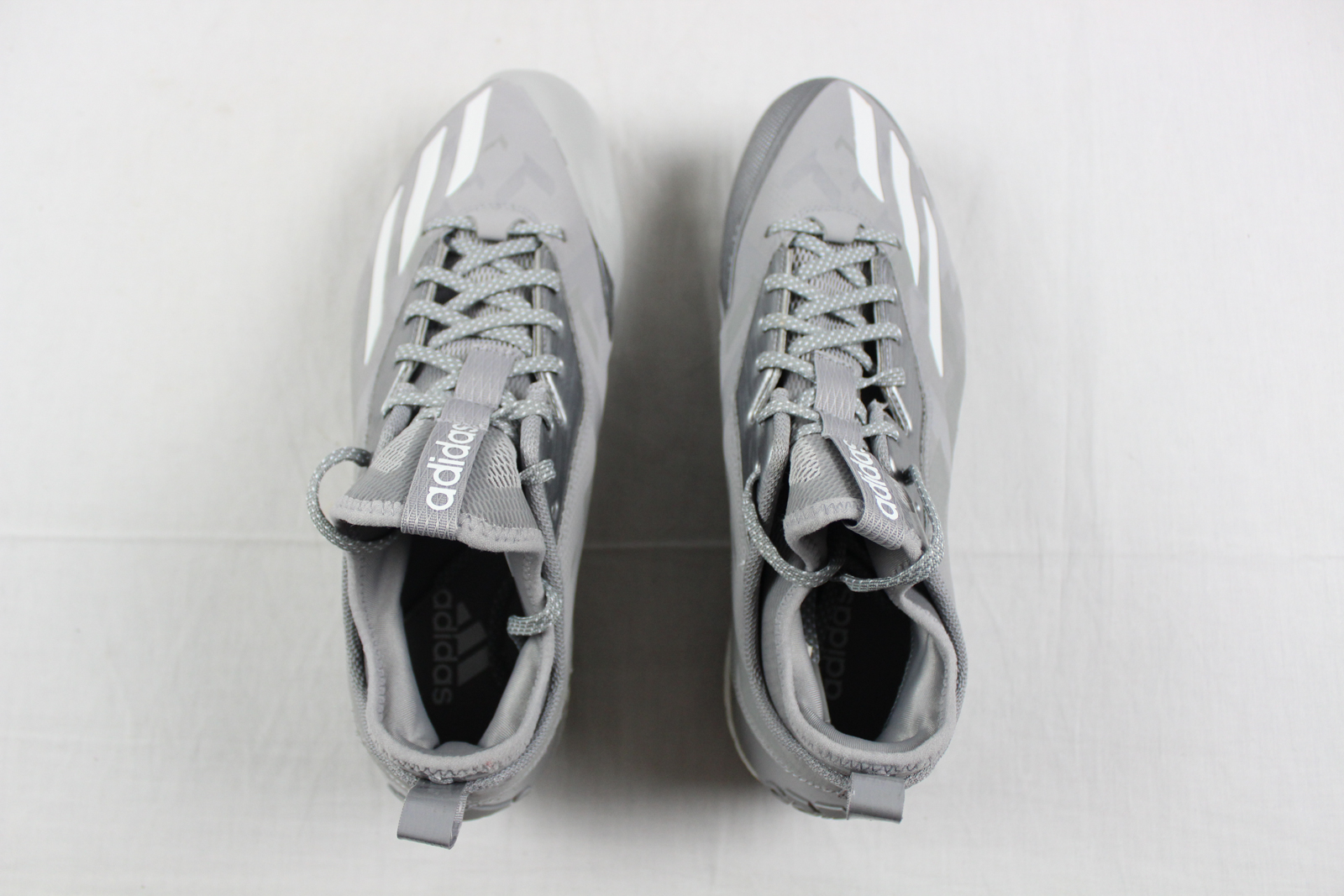 newest 06809 db68a ... NEW adidas Boost Icon 2 - Gray Cleats (Men s (Men s (Men s 10.5) ...