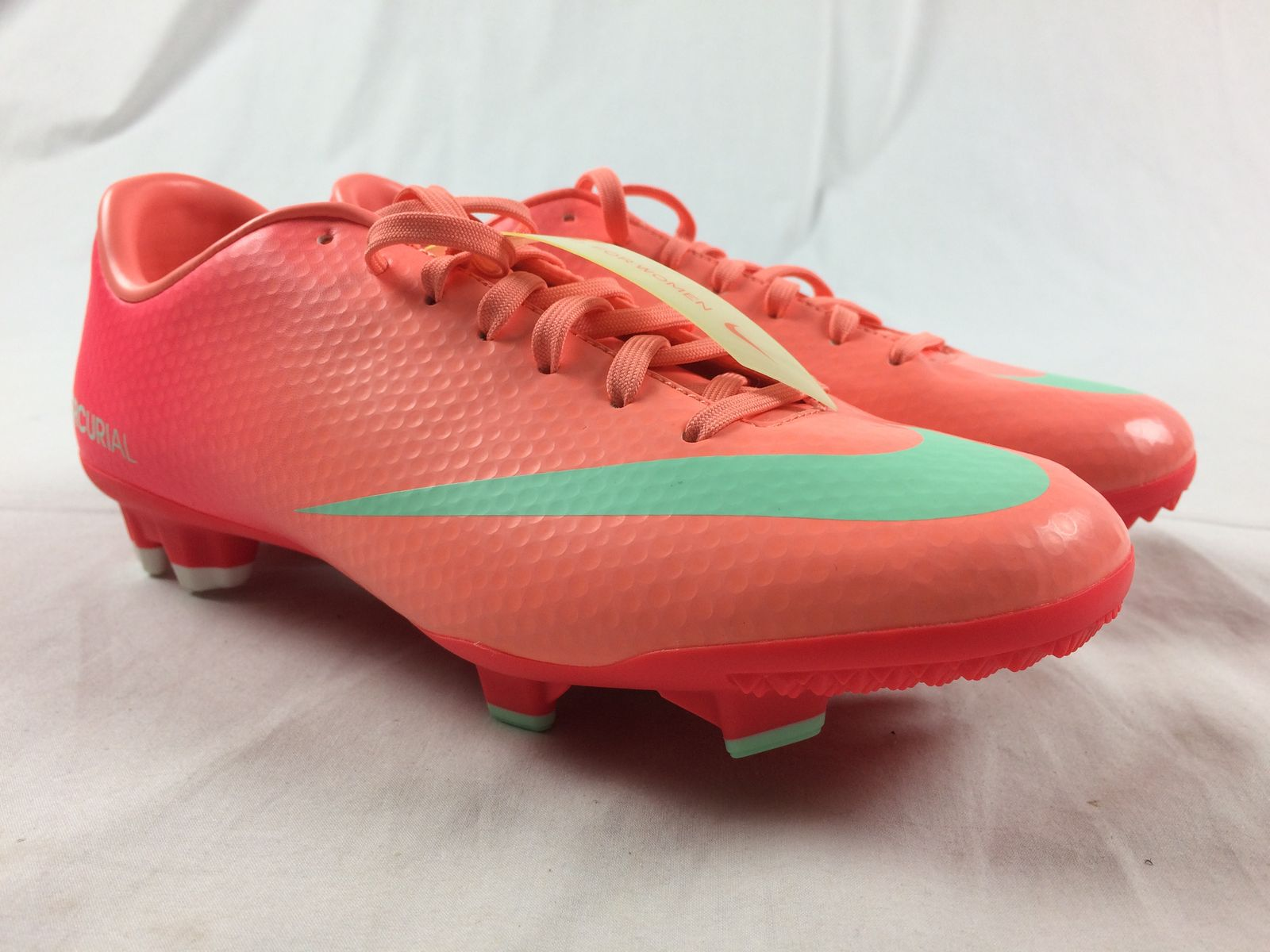 fb5883ac Details about NEW Nike Mercurial Victory IV FG - Pink Cleats (Women's 6.5)