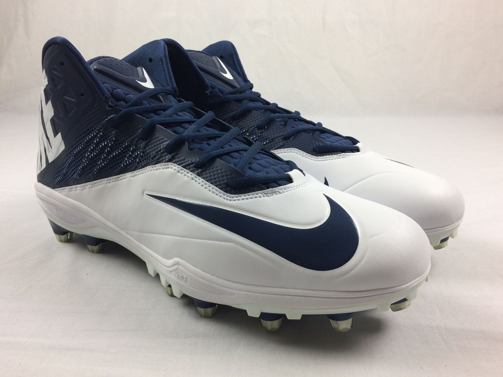 599c85f89273 Details about NEW Nike Nike Zoom Code Elite 3 4 TD - White Blue Cleats ( Men s Multiple Sizes)