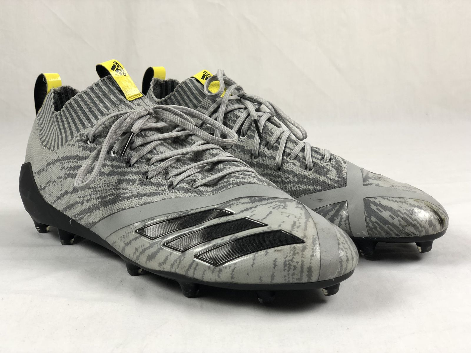49ea13256 Details about adidas Adizero 5 star 7.0 Prime knit - Gray Cleats (Men s 15)  - Used