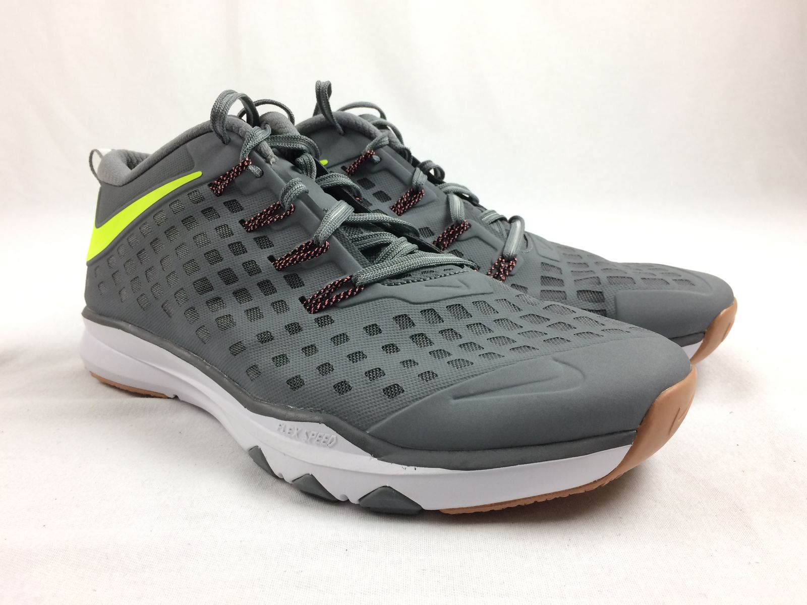Details about NEW Nike Nike Flex Speed - Gray Running 7a48b463e0