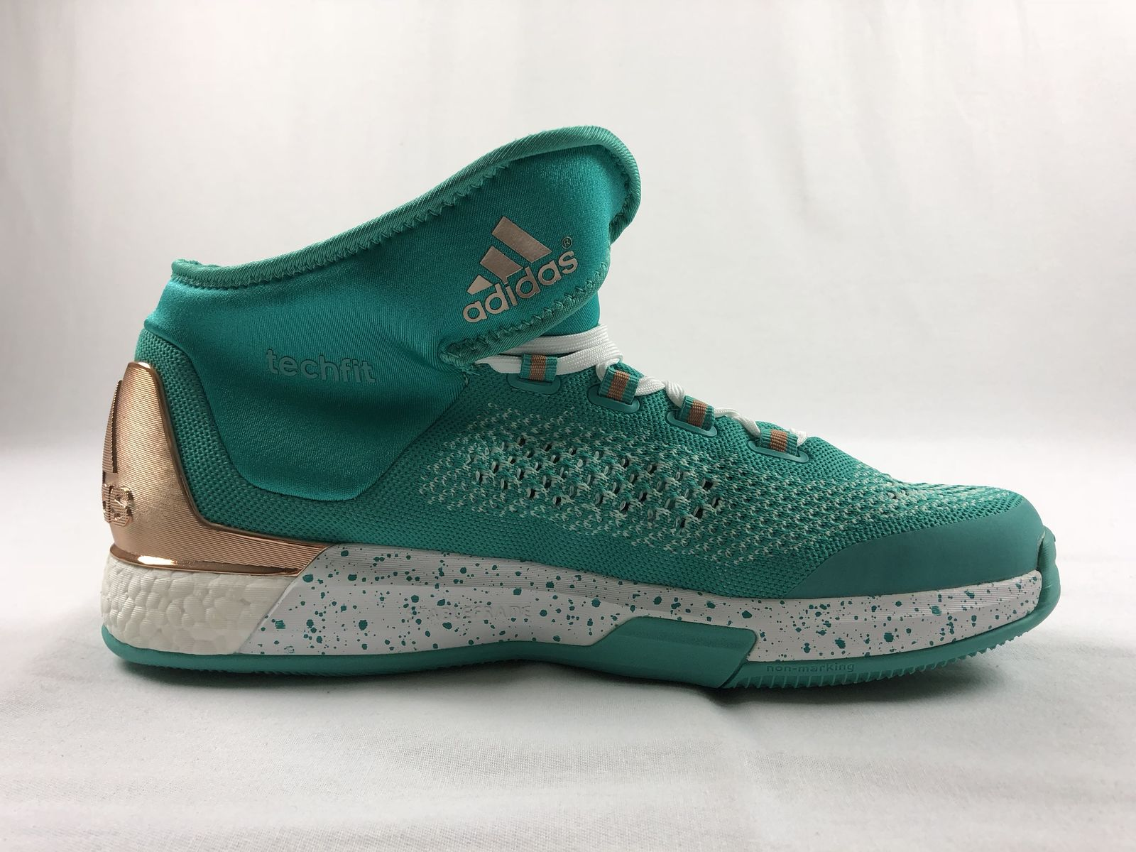 online store 4c753 5b1ff NEW adidas Crazylight Techfit - Teal Basketball Shoes (Mens 14.5)