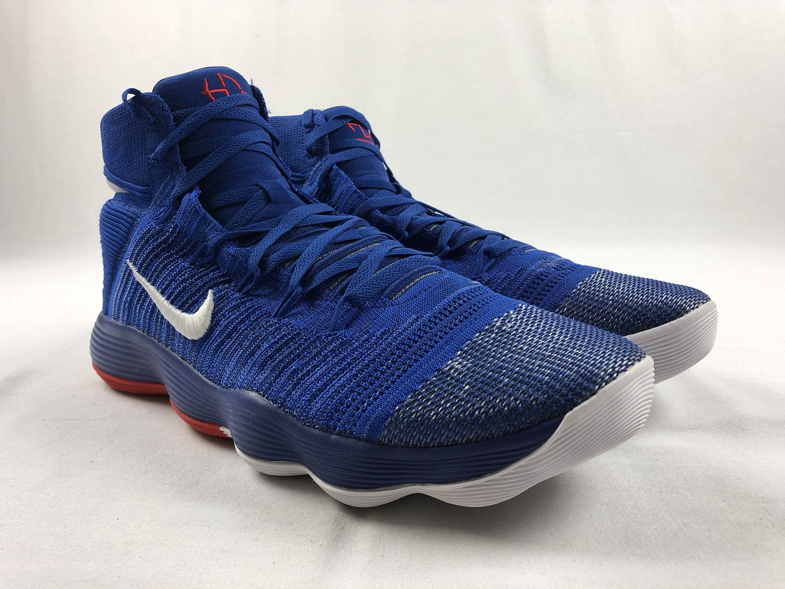 new styles 264e8 cd73e Details about NEW Nike Hyperdunk 2017 Flyknit Promo - Blue Basketball Shoes  (Men s 17.5)