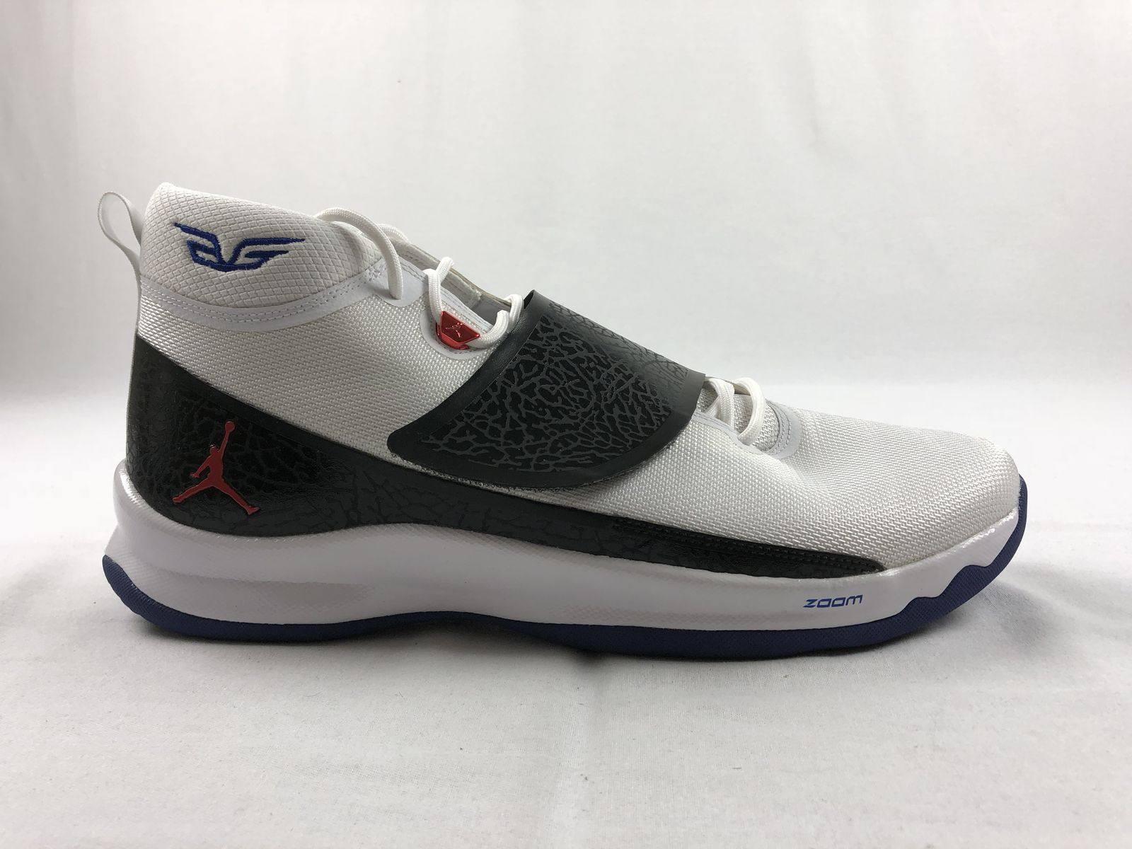 33de5b332509 NEW Jordan Super Fly 5 Promo - White Black Basketball Shoes (Men s ...