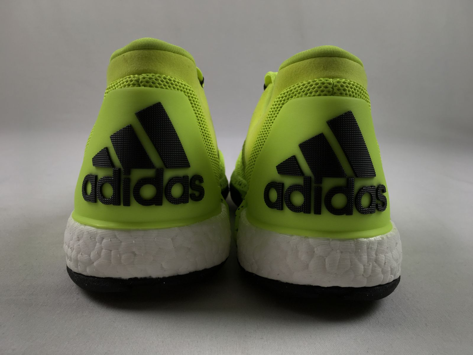 35720c7e373 ... closeout 3 of 7 new adidas 2015 crazylight boost lime green basketball  shoes mens 9.5 fc71c