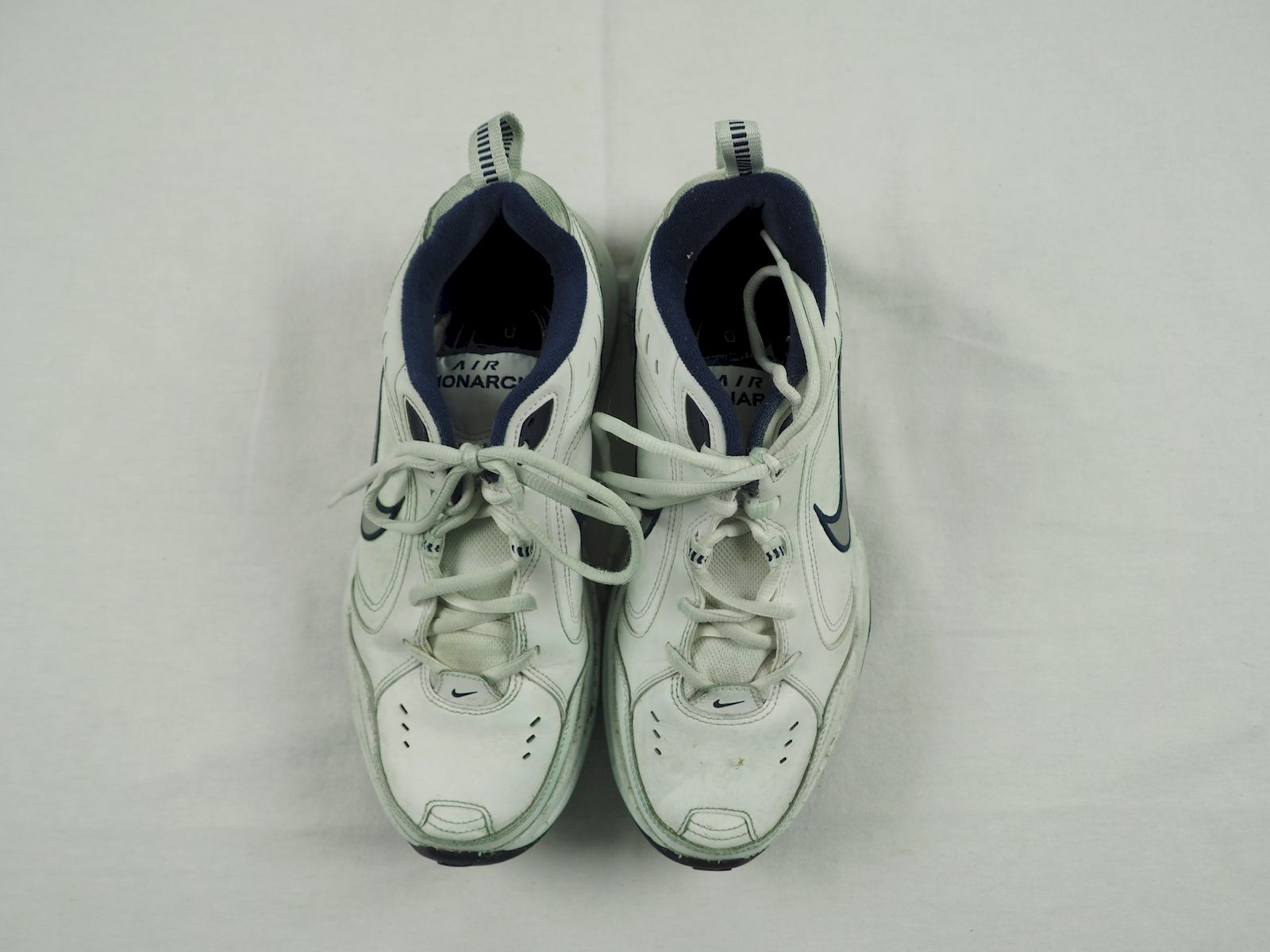 reputable site fe409 e3c63 Details about Nike Air Monarch - White Running, Cross Training (Mens 9) -  Used