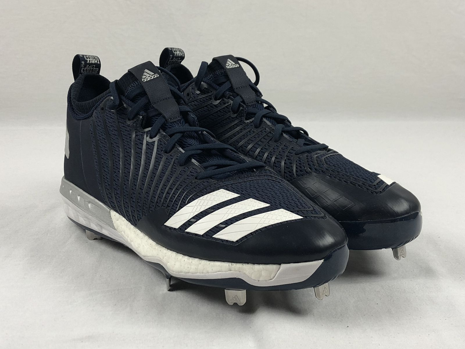competitive price aa3d6 cd18b NEW adidas Boost Icon 3 - Blue Cleats (Men s 12)