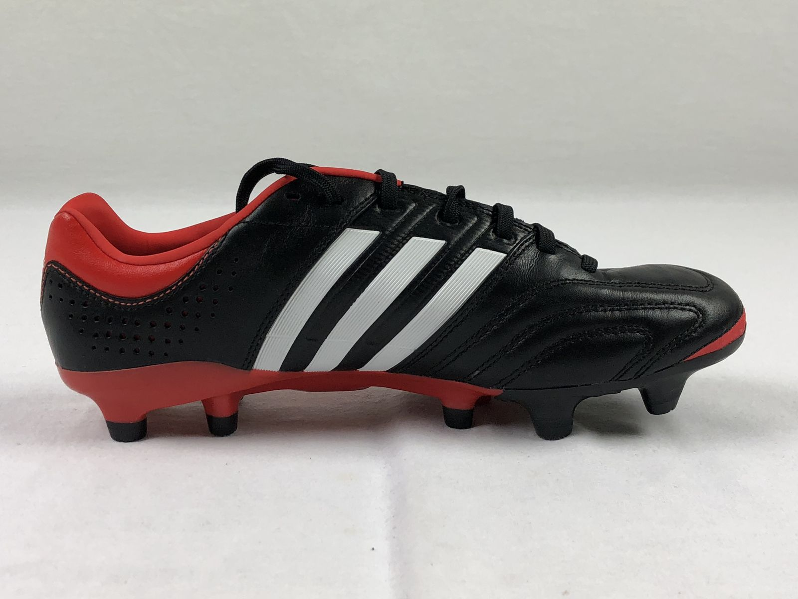 separation shoes d257e f46f5 Details about NEW adidas adipure II Pro TRX - Black Red Cleats (Men s  Multiple Sizes)
