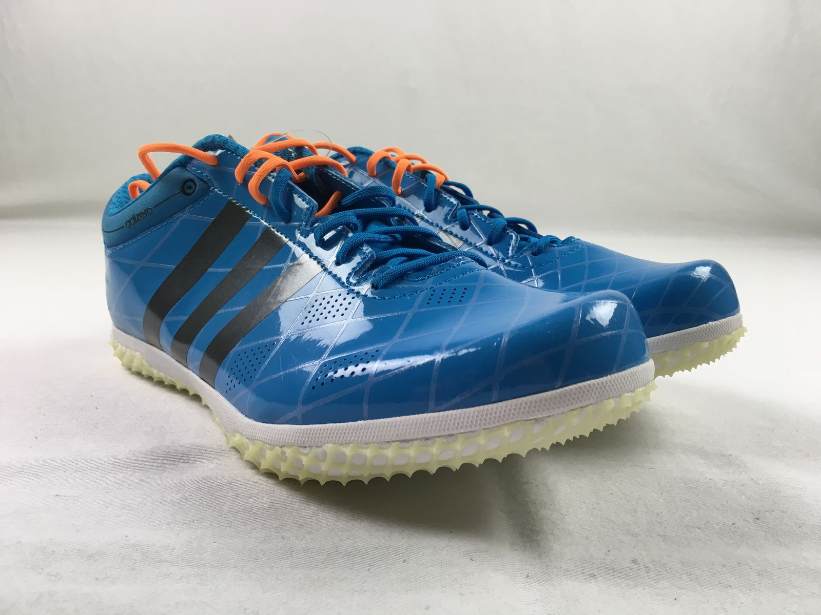 first rate 1d56f 3c33e Details about NEW adidas adizero HJ FL - Blue Cleats (Mens 12)