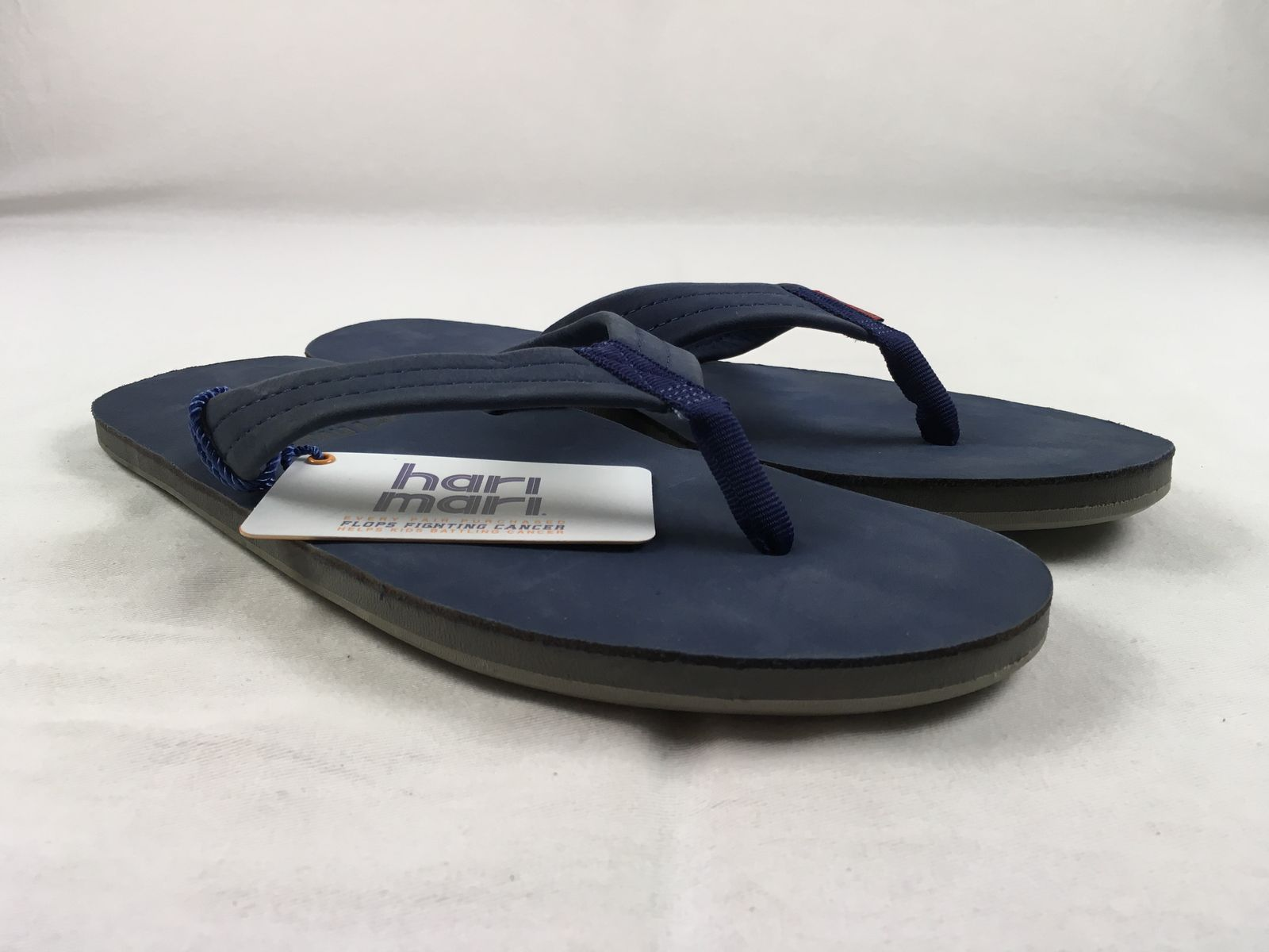 8f9f2c5a2b6 NEW Hari Hari Hari Mari Men s Fields - Navy blue Sandals   Flip Flops (Men s