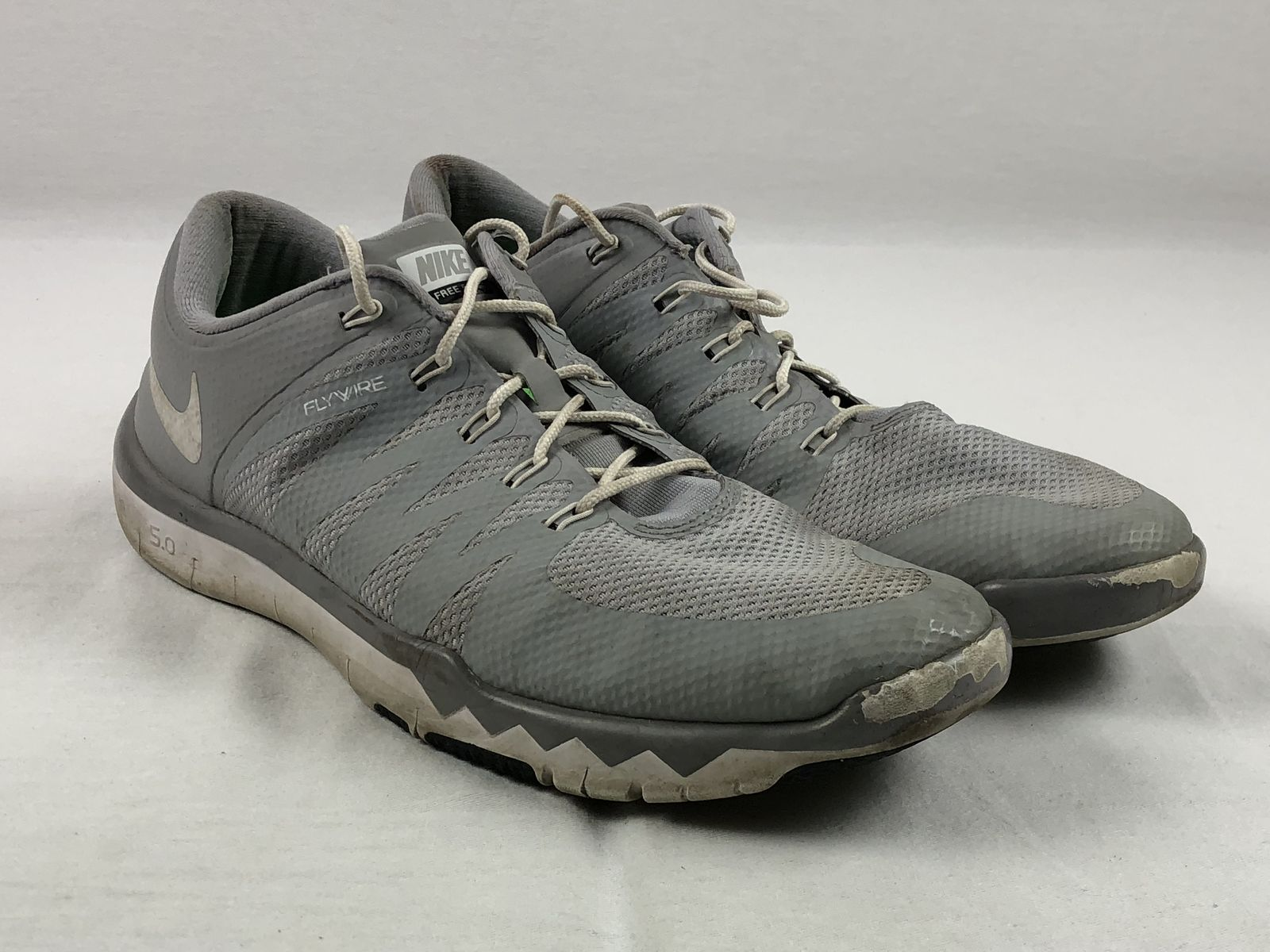 sports shoes b2f6d e05a5 Details about Nike Free 5.0 TR - Gray Running, Cross Training (Men s 14) -  Used
