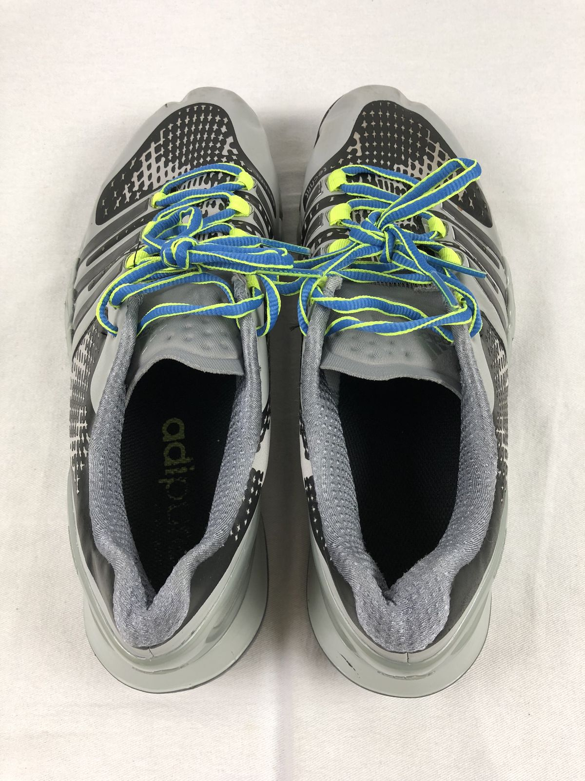 new product 59277 9e595 adidas Tech Fit - Gray Black Running, Cross Training (Men s 10) - Used