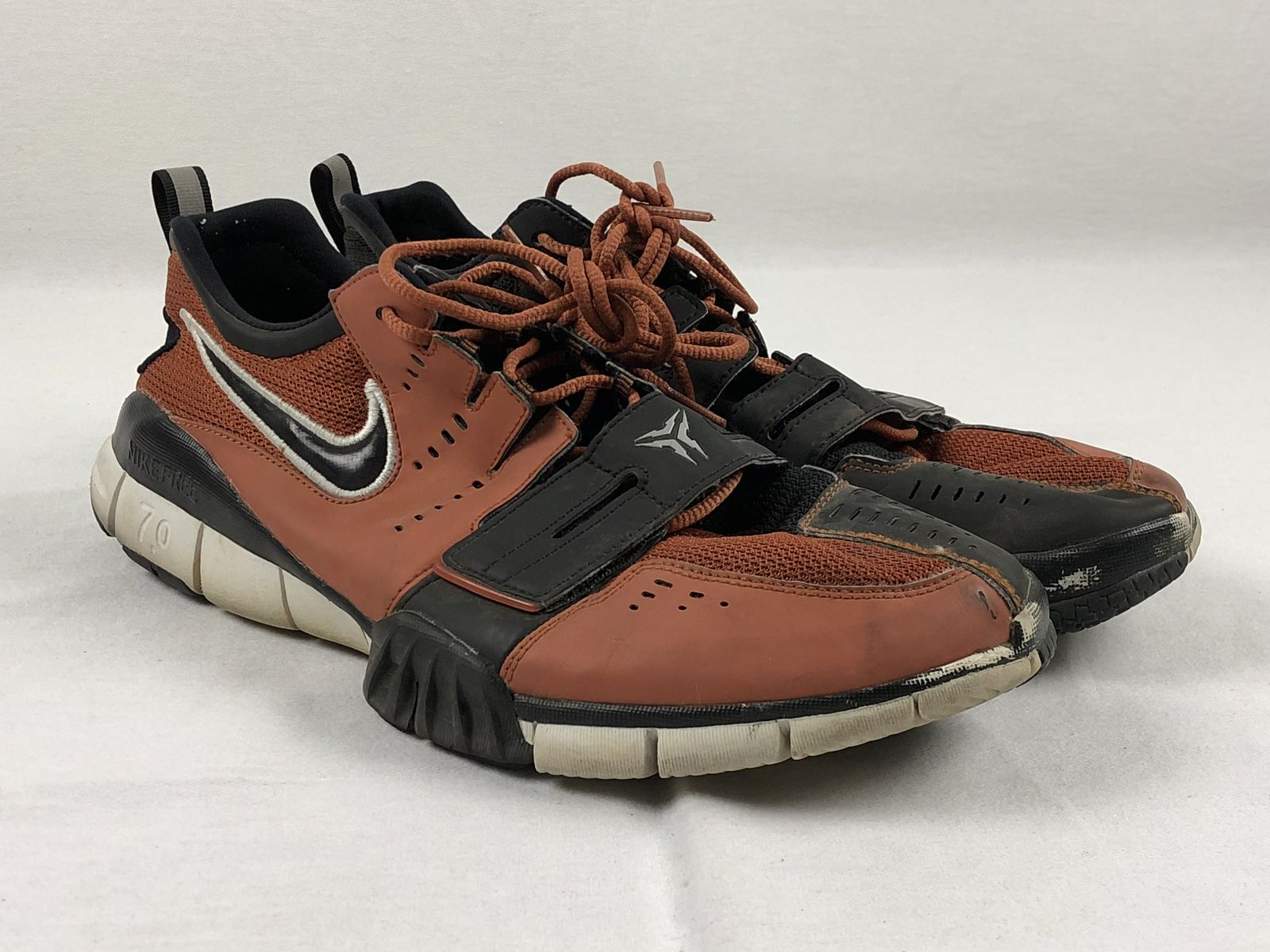 Details about Nike Free 7.0 - Orange Black Running a362f2e5f