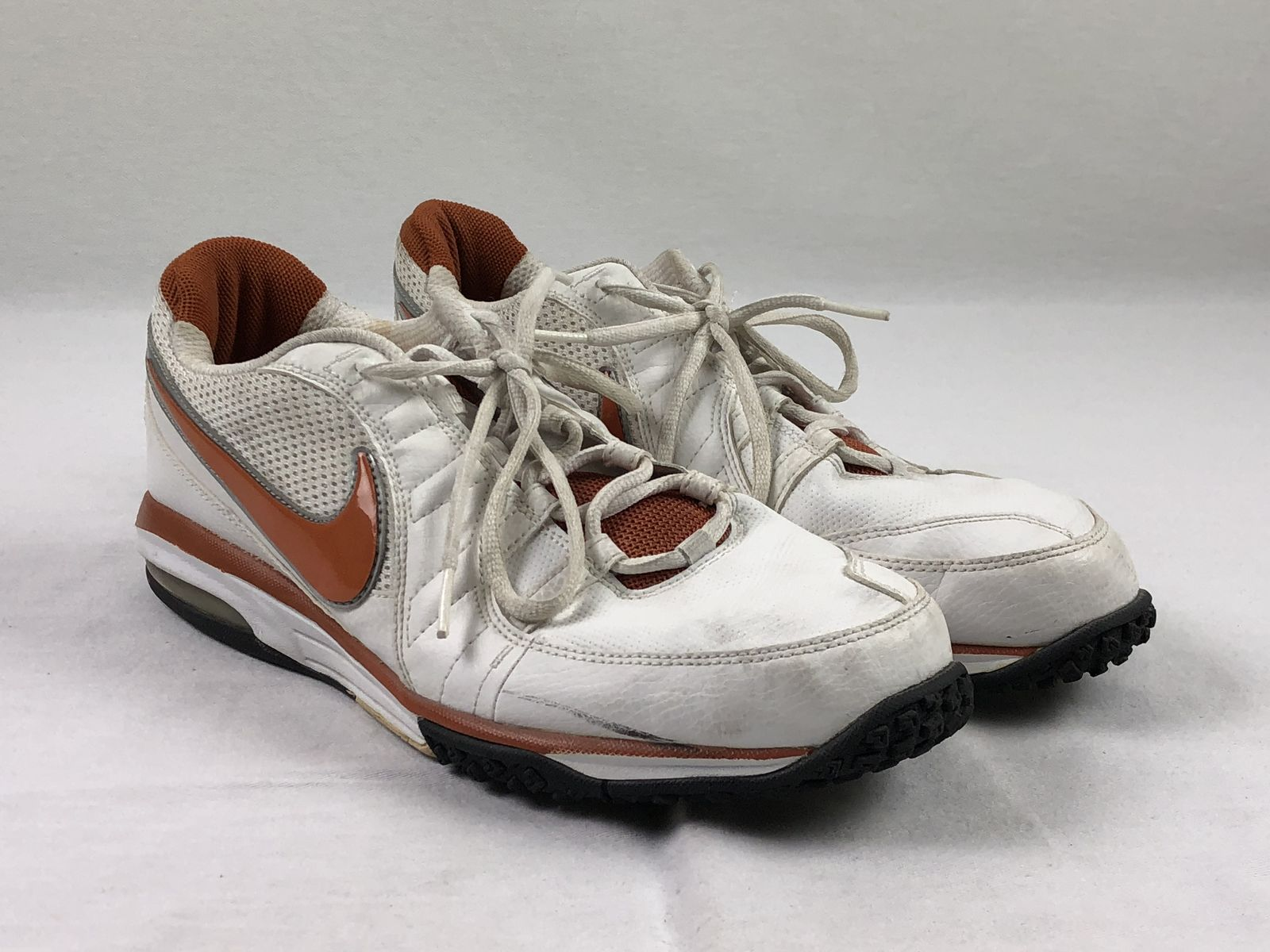 14f4077497eb4 Details about Nike Sparq - White Orange Running