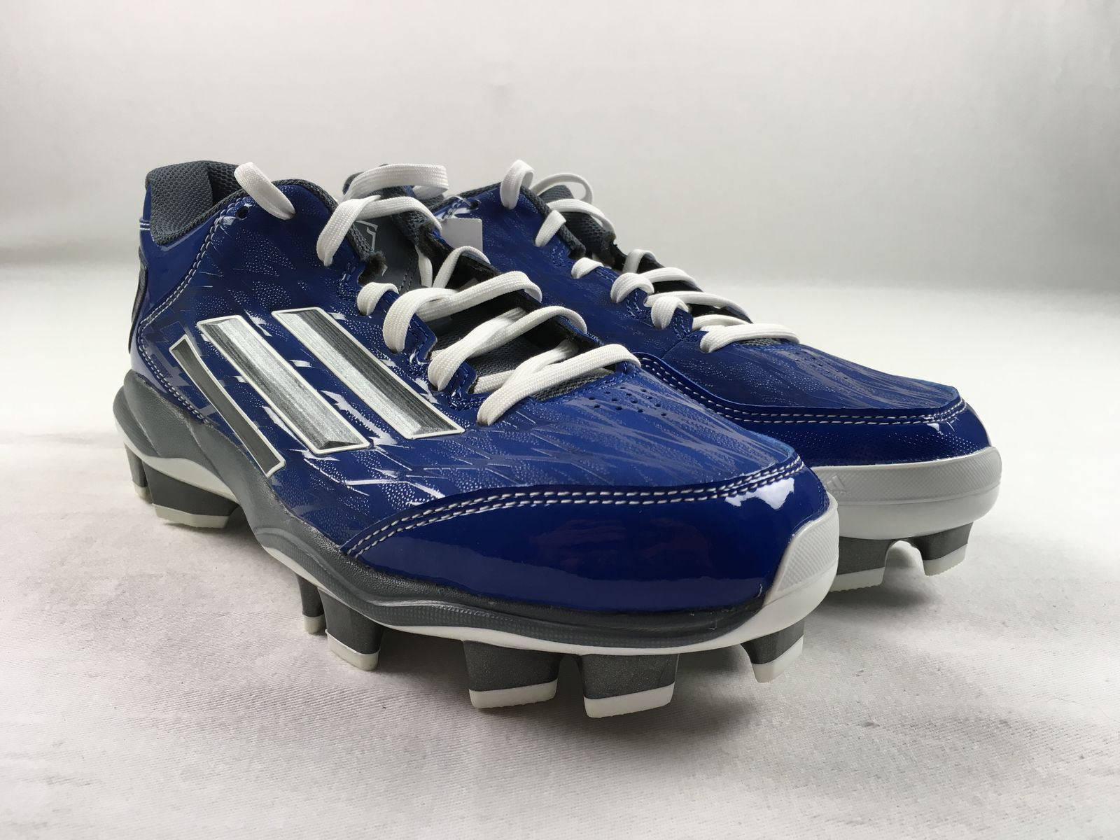 NEW adidas Power Alley 2 TPU W - Blue Cleats (Women's Multiple Sizes)