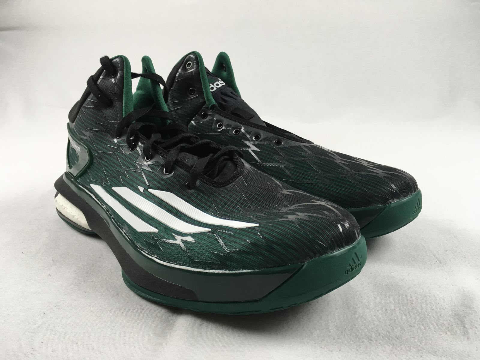 NEW adidas Crazylight Boost Green Basketball Shoes (Men's