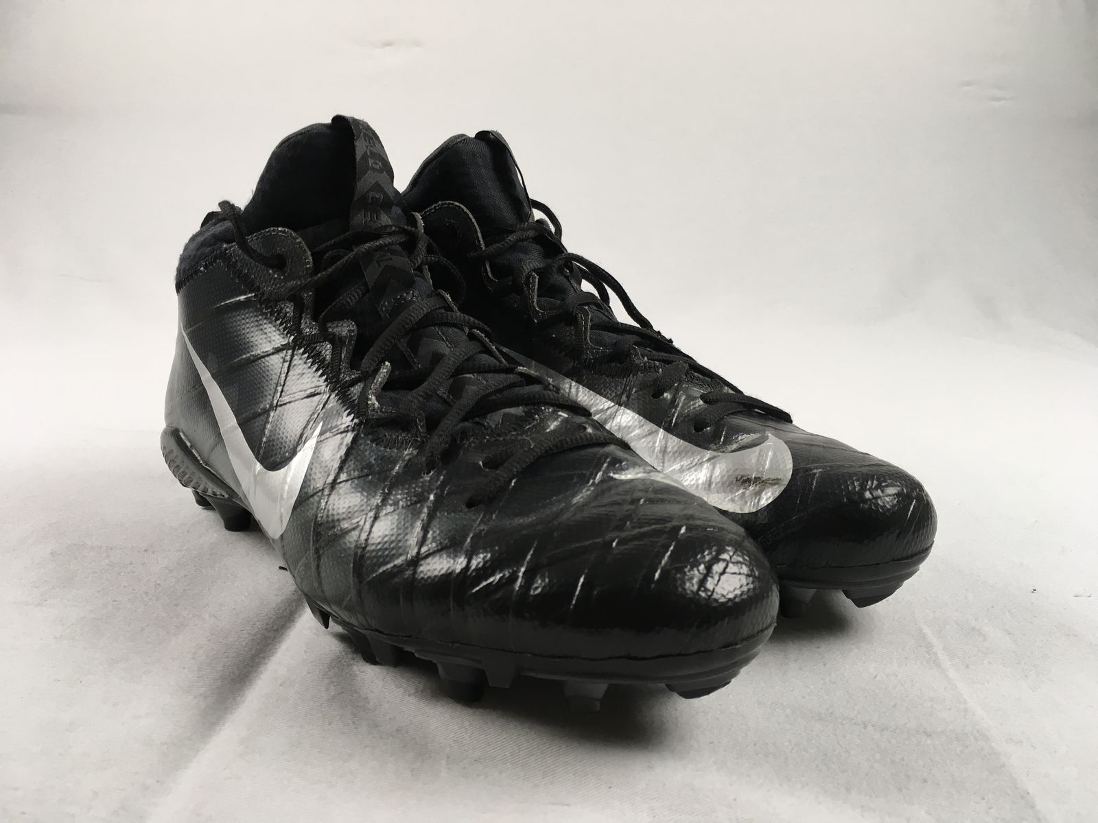 pretty nice 62526 3af1f Details about Nike Alpha Field General Elite Camo - Gray Cleats (Men s 12)  - Used