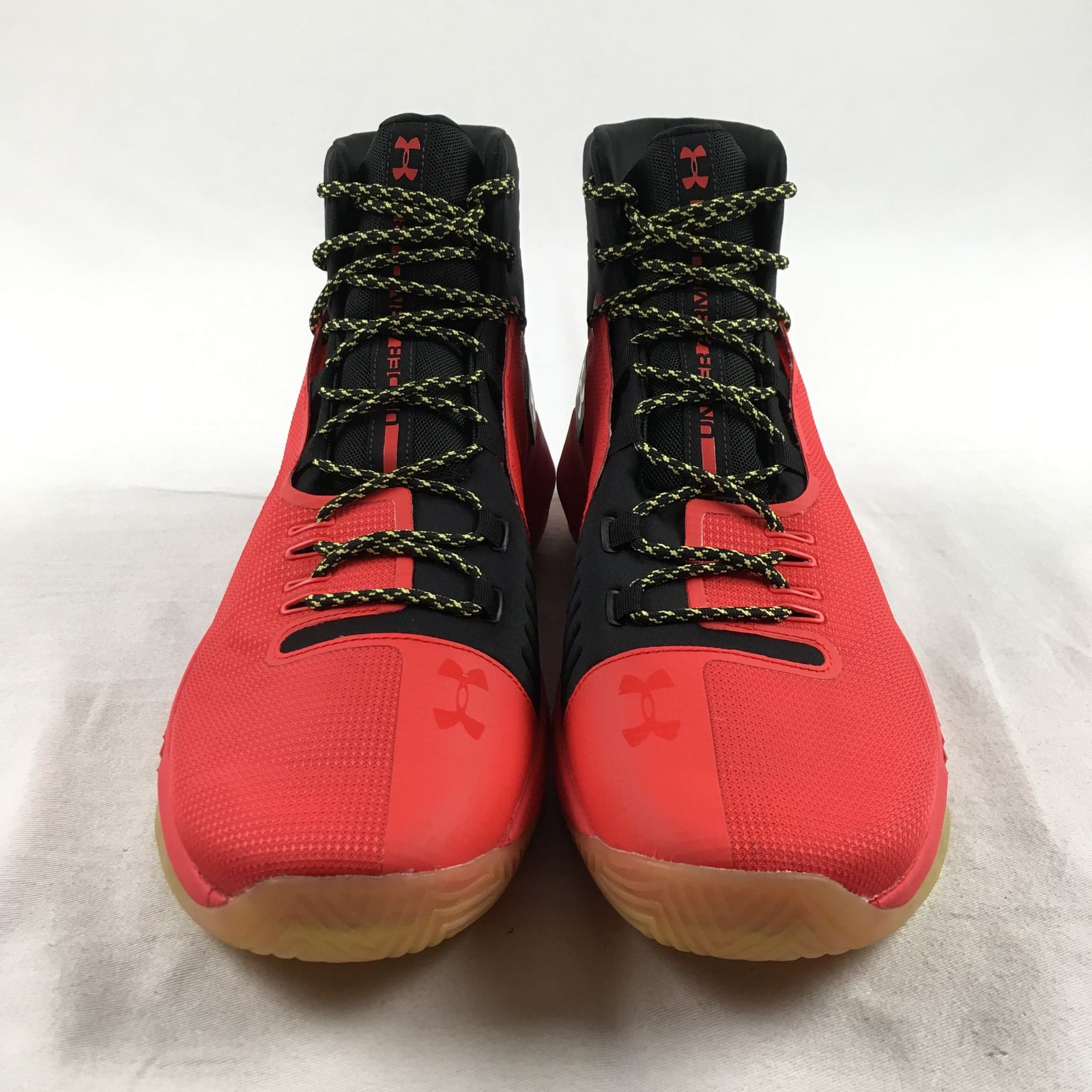 a127212a87 NEW Under Armour Drive 4 TB - Black/Red Basketball Shoes (Men's Multiple  Sizes)
