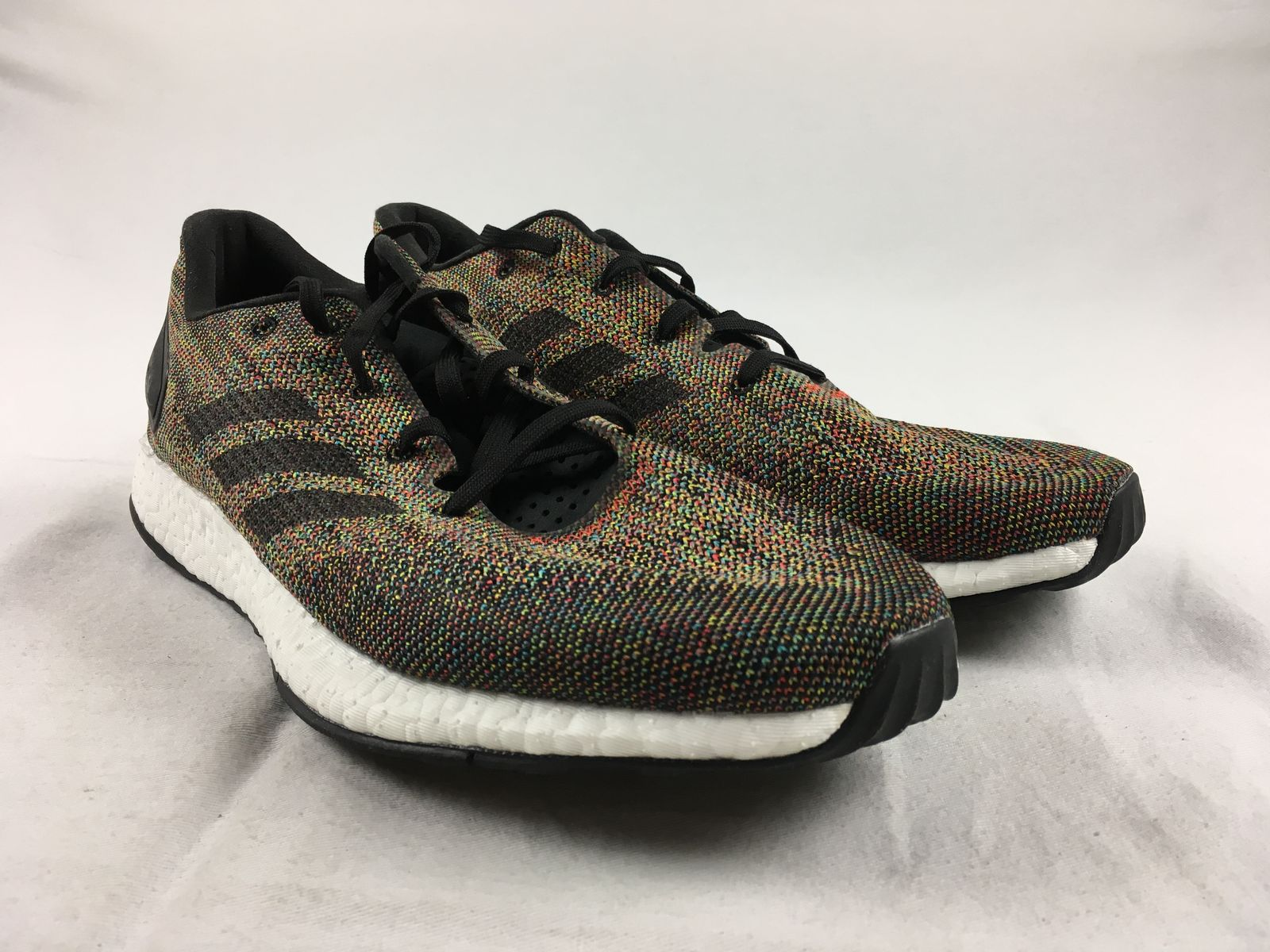 Details about NEW adidas Pure Boost - Rainbow Running 66800f7a1