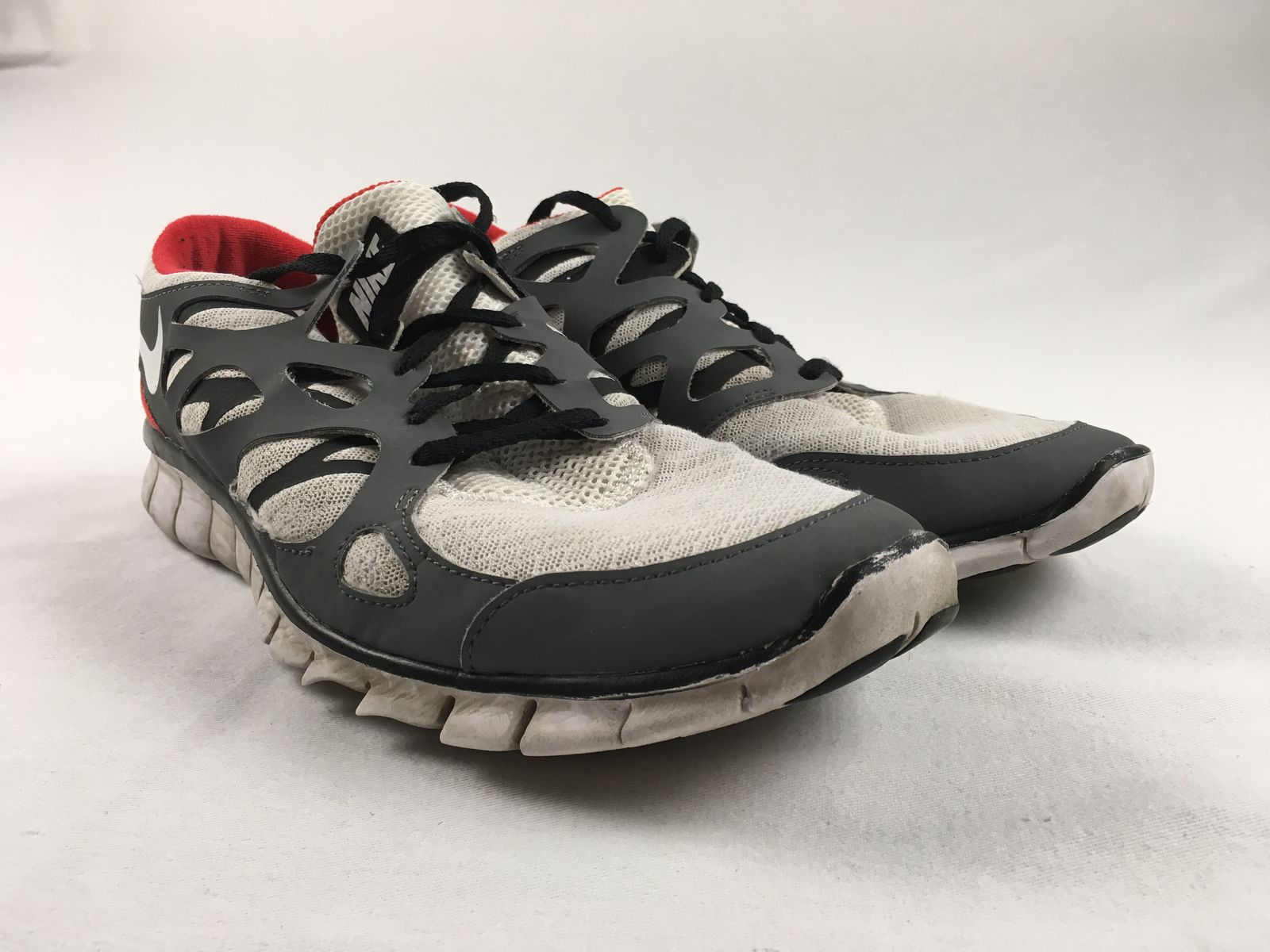 f0972b771d76 Details about Nike Free Run 2 - Gray Red Running