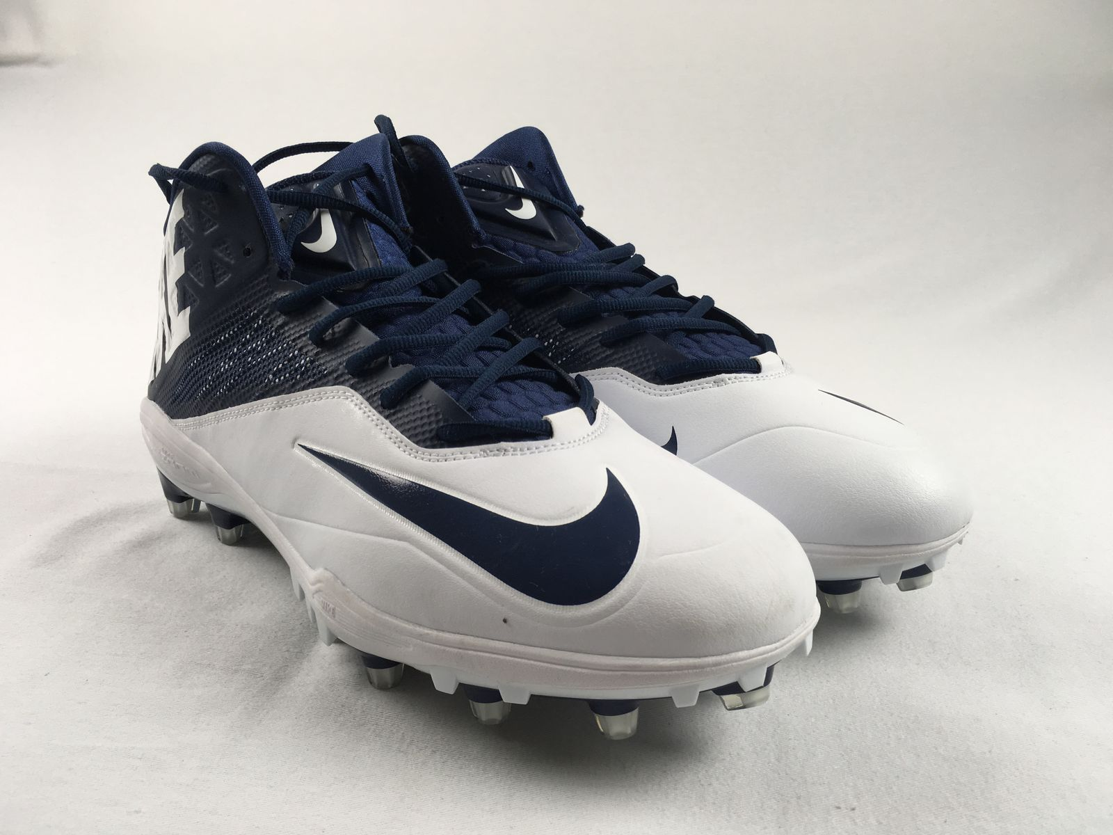 65a8a304c5eb Details about NEW Nike Zoom Code Elite 3 4 TD - Navy Blue Cleats (Men s 14)