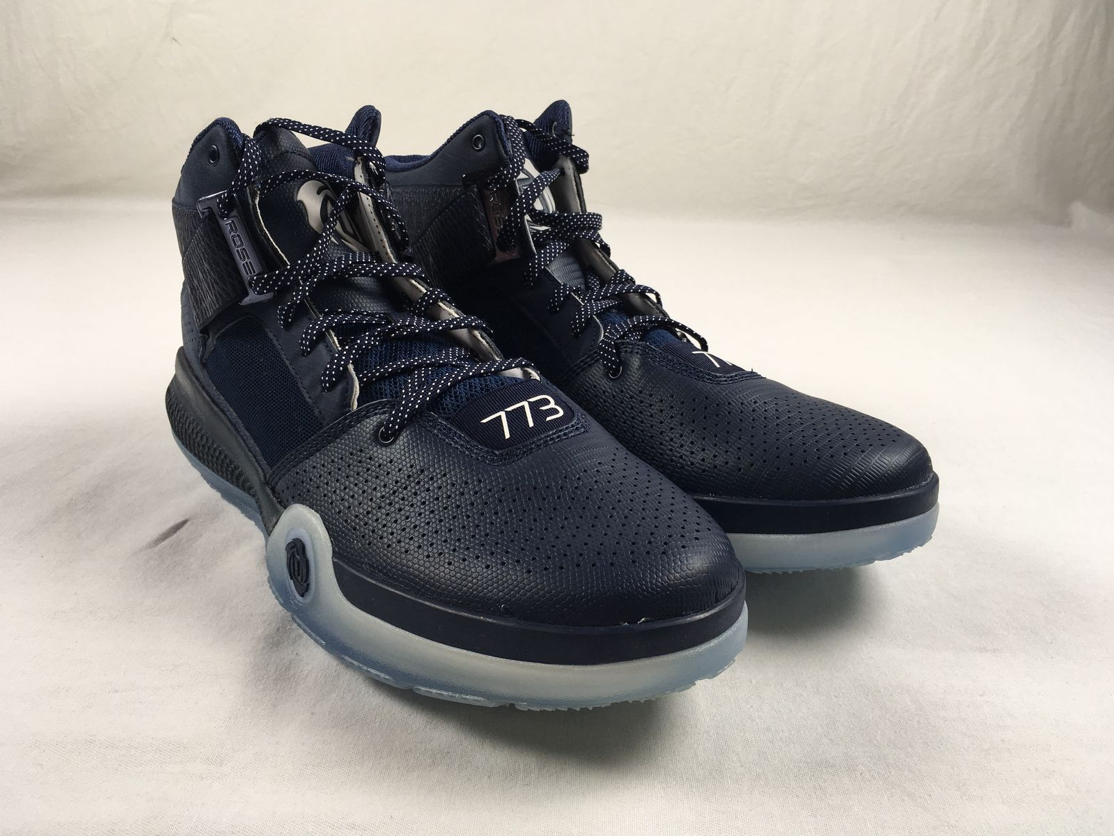 0fd9b158607a Details about NEW adidas D Rose 7 - Navy Blue Basketball Shoes (Men s 15)