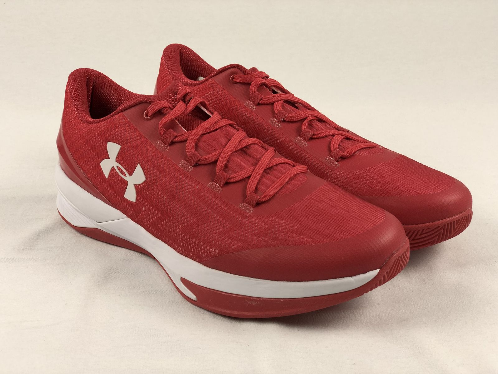 b83f7a559d7 Details about NEW Under Armour Charged Controller - Red Basketball Shoes ( Men s 14)