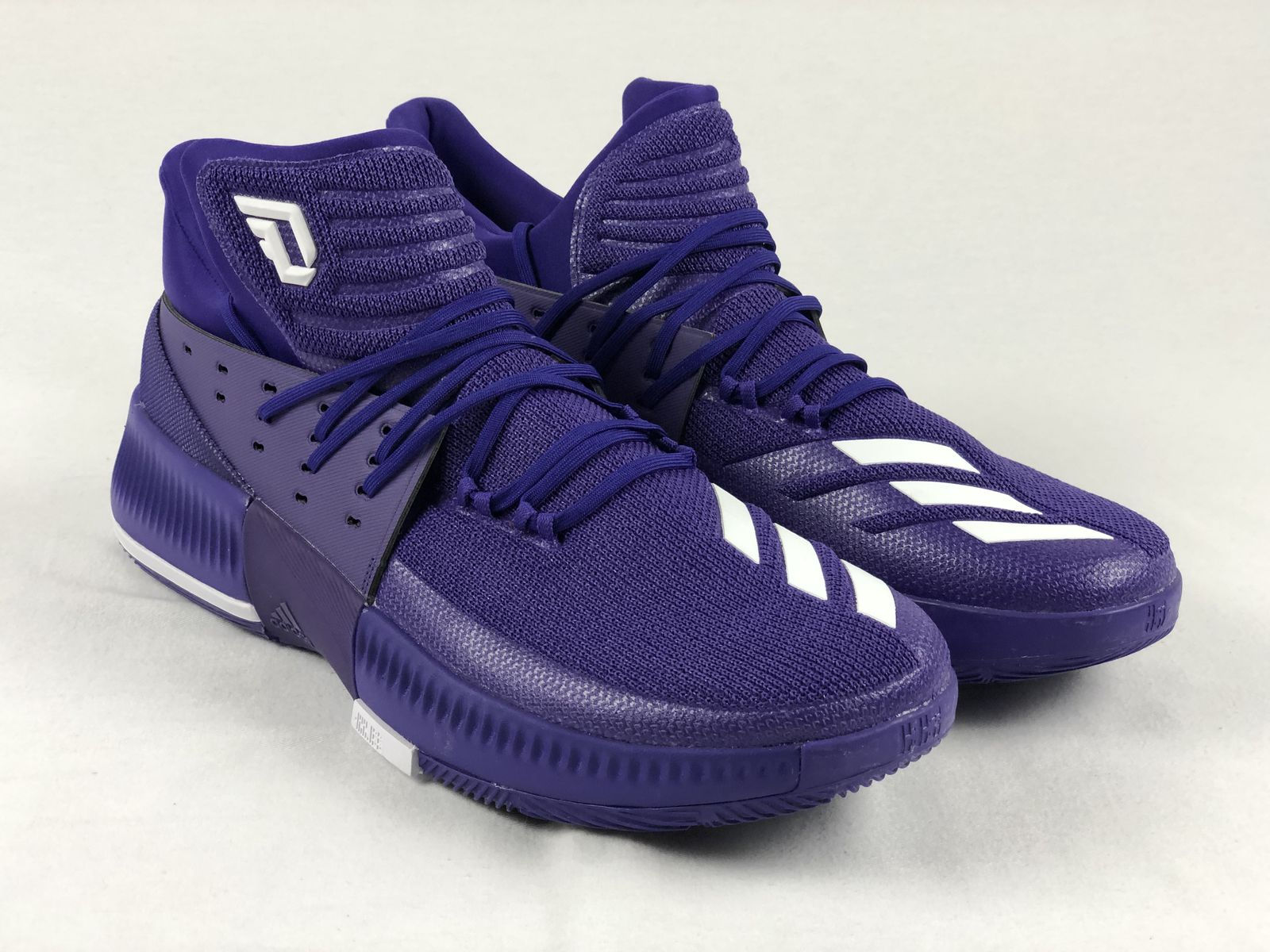 sports shoes eccf2 5cb49 Details about NEW adidas Dame 3 - Purple Basketball Shoes (Men s 18)