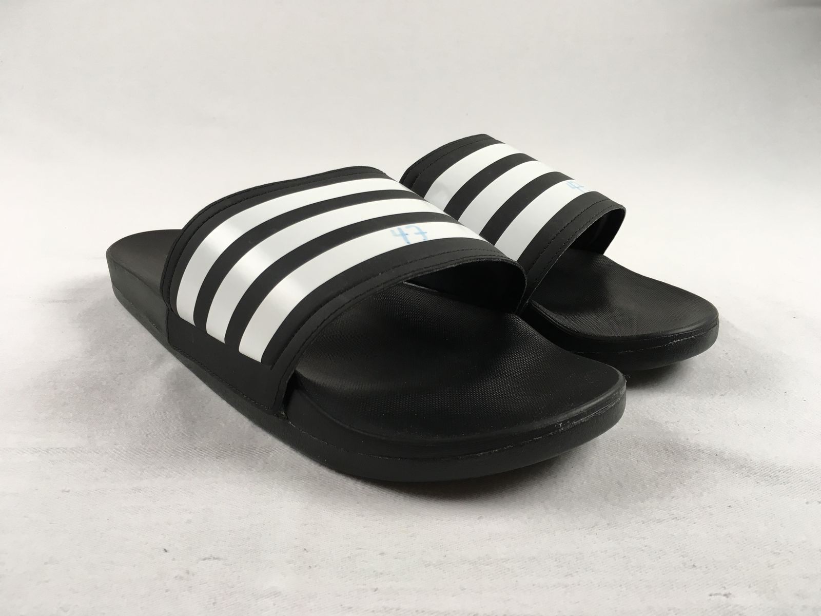 55a6175e5f7d Details about NEW adidas - Black Sandals   Flip Flops (Men s 11)
