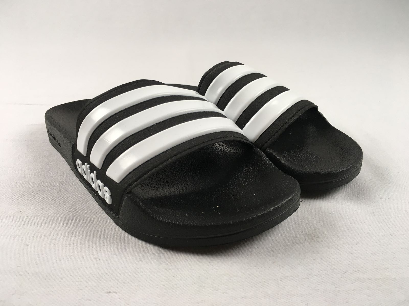 d1261a51cf1bd Details about NEW adidas adilette Shower - Black Sandals   Flip Flops  (Men s Multiple Sizes)