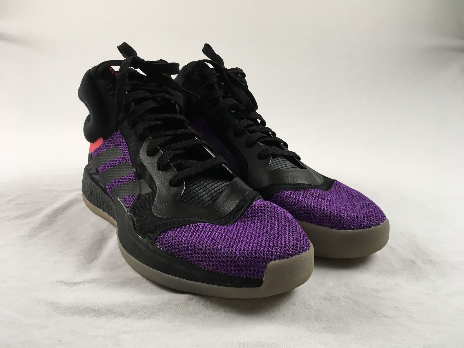 the best attitude 98d4b 32432 Details about NEW adidas Marquee Boost - Purple Basketball Shoes (Mens 15)